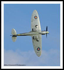 SUPERMARINE SPITFIRE (Wings & Wheels Photography.) Tags: fighter wwii duxford spitfire bdp cambridgeshire raf imperialwarmuseum battleofbritain iwm 2011 bluediamondphotographic