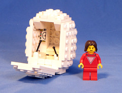 Mork3 (Shmails) Tags: robin williams lego egg sphere spaceship custom lowell mork minifigure ork