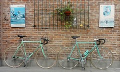 Bianchi rekord 748 & Bianchi rekord 370 (coventryeagle48) Tags: vintage 370 bianchi huret rekord campagnolo 70s 80s 748