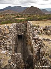 Dainzu: View of Cerro Da'Nush from northernmost edge of ruins (yaxchibonam) Tags: mexico oaxaca inah zonas zapotec dainzu danush lateclassicperiod cerrodanush faulseit archeologicas