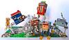 Little Walking Houses (Imagine™) Tags: house toy lego steampunk moc littlehouses foitsop walkinghouse