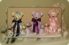 MAIS UMA ENCOMENDA TERMINADA.... (CANELA COOL by CAROL) Tags: bear decor decoração urso