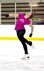 Layback spin (eking1989) Tags: ice spin skating indoor skate figure rink balance skater layback