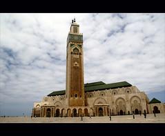 the mosque (atsjebosma) Tags: africa clouds minaret wolken mosque casablanca cloudysky moskee hassanii atsjebosma mygearandme mygearandmepremium mygearandmebronze mygearandmesilver mygearandmegold