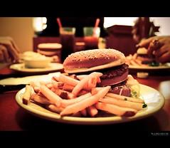 the moment before pumpkin and honey bunny stood up [explore] (elmofoto) Tags: movie french diner scene fav20 explore fries hamburger pulpfiction tarantino 1000v fav10 explored juici elmofoto lorenzomontezemolo