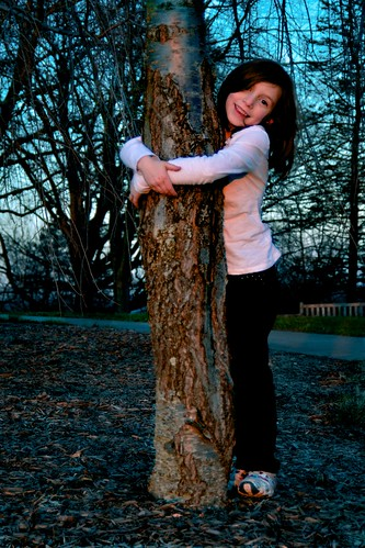 From flickr.com: Hugging a Tree {MID-72120}