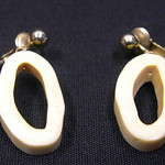 "<b>Earrings</b><br/> -Unknown- Earrings Ivory, ca. 1970 LFAC #2008:01:38<a href=""http://farm8.static.flickr.com/7027/6835905063_7a93d4f9e9_o.jpg"" title=""High res"">∝</a>"