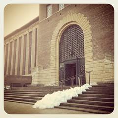 UL (Sir Cam) Tags: cambridge snow university library ul 2012
