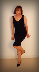 The Black Dress (Helene Barclay 1) Tags: gay lesbian glbt queen tgirl transgender tranny transvestite homosexual trans heterosexual transexual crossdress gurl trannie mtof hetero hetro femaleimpersonator maletofemale tgurl femaleillusion transvestismtranssexual