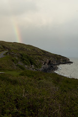 Scotish Rainbow (albinobobman) Tags: ocean clouds scotland rainbow coastline coastaldrive