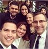 Selfie de grupo con el embajador Costos