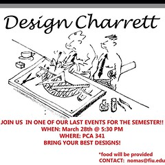 "Today is the day! NOMAS members, do not forget that our design charrett crit will be taking place THIS EVENING at 5:30PM in PCA 341. Those who are NOT in the crit room and ready by 5:15PM will be DISQUALIFIED. We can't wait to see the innovative designs t • <a style=""font-size:0.8em;"" href=""http://www.flickr.com/photos/109776203@N02/13468145774/"" target=""_blank"">View on Flickr</a>"