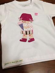 CAMISETA DE LORENA (el taller de la tijera y el dedal) Tags: madrid en de infantil patchwork camiseta hacer alcorcón camisetas aplicadas