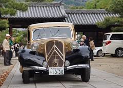 La Festa Primavera 2014(CITROEN TRACTION AVNT 7CV) (nobuflickr) Tags: car 京都 車 建仁寺 クラシックカー lafestaprimavera2014 20140421dsc06579