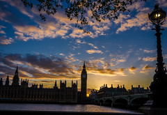Parliament in the Blue DSC_5015.jpg (Sav's Photo Gallery) Tags: city uk travel sunset people london water westminster thames architecture river photography evening cityscape capital parliament bigben landmark tourist gb iconic d7000 savash