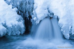 Waterfall (Victoria Helson photography) Tags: longexposure france ice water canon landscape waterfall bleu