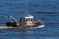 IMG_5994 (LezFoto) Tags: canon eos scotland sigma aberdeen aberdeenharbour lifting surveying divesupport debriscollection aberdeenharbourboard 700d macduffshipyards multipurposeworkboat ploughdredger seaherald ploughdredging harbourrepairs