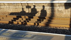 Shadowed (mike1727) Tags: shadow station commuter stalbans