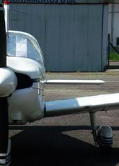 Embraer Tupi (Antnio A. Huergo de Carvalho) Tags: airplane nose aircraft aviation engine front motor avio propeller spinner nariz aviao frente embraer hlice tupi aeroclubedoparan emb712 aviaogeral ptrho