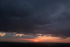 evening in Cracow (Kaenka) Tags: sky sun night clouds evening poland krakow cracow