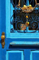 La porte bleue des amoureux (jjcordier) Tags: coeur bleu porte allemagne annweiler rhénaniepalatinat