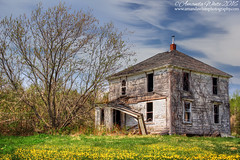 Creep (2016 Edition) (sminky_pinky100 (In and Out)) Tags: canada landscape outdoors wooden pretty novascotia scenic colourful ruraldecay decayed decaying fallingdown omot cans2s abanadoonedhouse