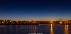 Dawn Light (johnwilliamson4) Tags: water sunrise reflections outdoor australia adelaide southaustralia oneandall portriver portadeleide cityofadelaidehulk