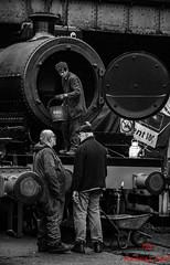Disposal (LMSlad) Tags: raw great central railway loughborough