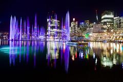 Darling Harbour 2 (interruptr) Tags: night harbour sydney vivid australia nsw vividsydney