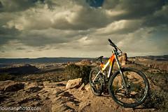porcupine trail (yourmightyruler) Tags: bicycling utah mtb moab rim porcupine specializedenduro