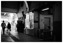 JR (Delytayan Third) Tags: bw station japan  kanagawa   kokudou