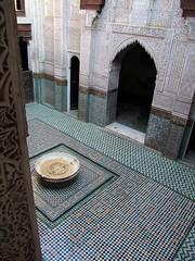 Bou Inania Medersa (Linda DV) Tags: africa travel canon geotagged morocco maroc meknes 2011 bouinaniamedersa  almarib  lindadevolder powershotsx30