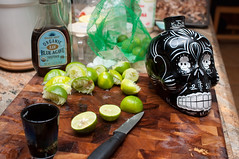 Tequila, Lime, Agave