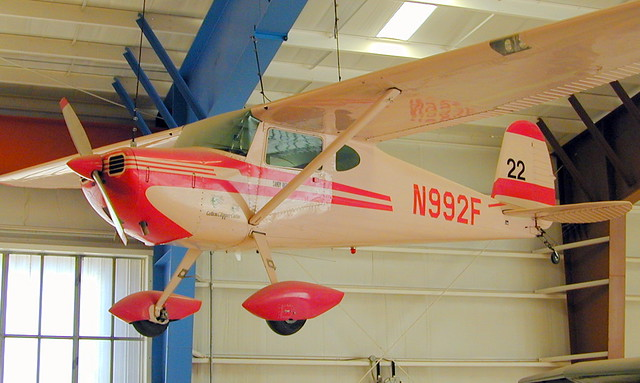 Cessna 140 N992F Cotton Clipper Cutie 22