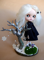 Winter Soltice and her Winter Tree
