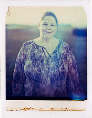 Mom on Polaroid 8x10 (mat4226) Tags: 210mm 8x10 8x10film backlit bellowsfactor expired expiredfilm f56 film filmphotography flare fuji fujifilm fujinon impossible instantfilm instantgratification largeformat longexposure outdoors peelapart polaroid polaroid809 portrait portraiture reciprocity sun sunny w wideangle mom mum mother farm sunlight 809 believeinfilm