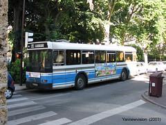 Renault SC10 R ex 145 SVTU - Phbus (Viroflay - France) 2003 ('Yannewvision') Tags: old france bus french frankreich renault versailles publictransport autobus viroflay  dpt  sc10  phbus   sc10r svtu garerivegauche alledesmatelots  yannewvision altenbus