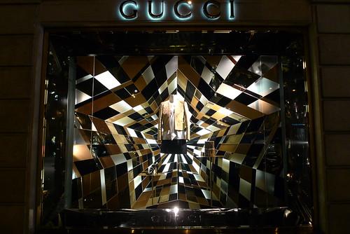 Vitrines Gucci - Paris, novembre 2011