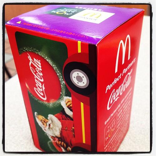 マクドでクリスマスプレゼント頂きました。