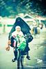 streets of solo (Medi Irawan) Tags: indonesia asia hijab niqab burqa surakarta khimar naiksepeda ibudananak