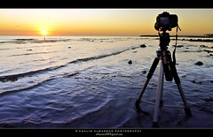 Wintry morning (khalid almasoud) Tags: camera leica city morning winter sky beach weather sunrise canon flickr december waves all photographer 5 tripod  8 rights estrellas kuwait dslr thursday khalid reserved dlux wintry  2011  greatphotographers 50d   almasoud flickraward  dlux5   flickraward5 leicadlux5  anjafah