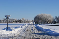 Crossroad (Steenjep) Tags: winter snow vinter sne ikast gjellerup