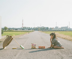 Honey Trap (Toyokazu) Tags: family portrait girl child trap pentax67