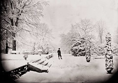 December 10, 1870 (National Library of Ireland on The Commons) Tags: trees ireland winter snow galway ice garden december terrace victorian shotgun bighouse grounds connacht connaught 1870 1870s 12bore smoothbore nationallibraryofireland dillonfamily ahascragh clonbrockhouse clonbrockestate