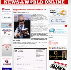 News of the World (Ronnie Biggs The Album) Tags: ronnie biggs greattrainrobbery oddmanout ronniebiggs ronaldbiggs