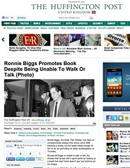 Huffington Post (Ronnie Biggs The Album) Tags: ronnie biggs greattrainrobbery oddmanout ronniebiggs ronaldbiggs
