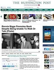 Huffington Post (Ronnie Biggs The Album) Tags: ronnie biggs greattrainrobbery oddmanout ronniebiggs ronaldbiggs