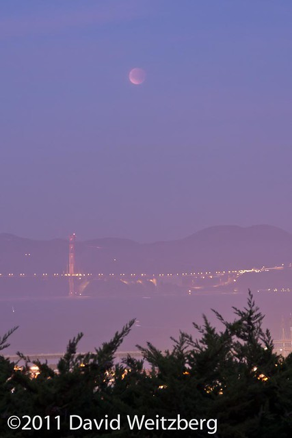 Lunar Eclipse at Dawn