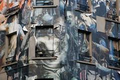 La Chapelle (gabmeriadeck) Tags: streetart paris france art collages walls murs lachapelle strret
