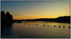 Hotellviken Saltsjöbaden (Papa Razzi1) Tags: sunset sea water december view sweden stockholm buoys saltsjöbaden hotellviken xperiaarc